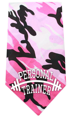 Personal Trainer Screen Print Bandana-Dog Clothing-Bella's PetStor