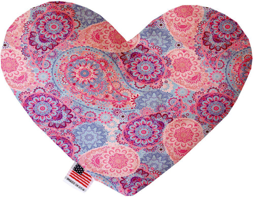Pink Bohemian Inch Heart Dog Toy-More-Bella's PetStor