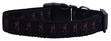 Pink Deer Nylon Cat Collar-Dog Collars-Bella's PetStor