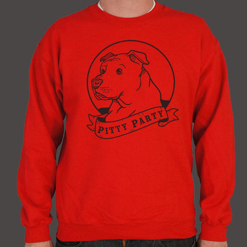 Pitty Party Sweater (Mens)-Sweatshirt-Bella's PetStor