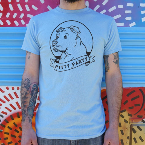 Pitty Party T-Shirt (Mens)-Mens T-Shirt-Bella's PetStor