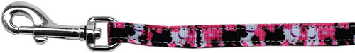 Plaid Pups Nylon Ribbon Pet Leash Inch Wide Lsh-Dog Collars-Bella's PetStor