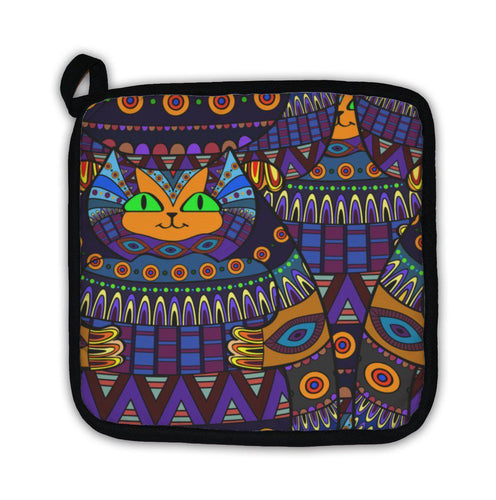 Potholder, Decorative Cat Pattern Ornamental-Potholder-Bella's PetStor