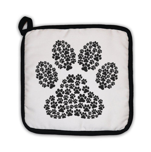 Potholder, Dog Footprint-Potholder-Bella's PetStor