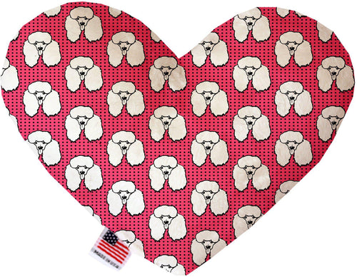 Pretty Poodles Inch Heart Dog Toy-More-Bella's PetStor