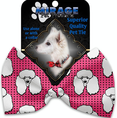 Pretty Poodles Pet Bow Tie Collar Accessory With Velcro-Bow Ties-Bella's PetStor