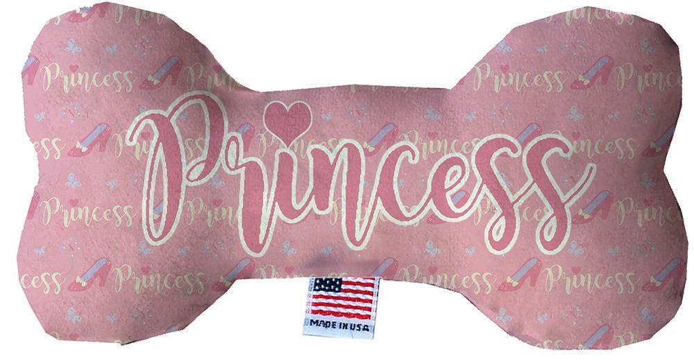 Princess Stuffing Free Inch Bone Dog Toy-Made in the USA-Bella's PetStor