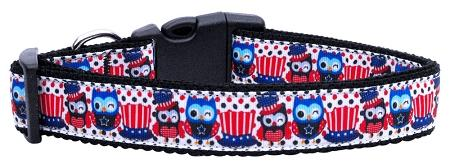 Proud Owls Nylon Dog Collar-DOGS-Bella's PetStor