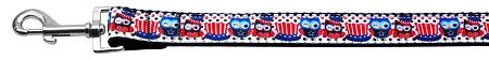 Proud Owls Nylon Ribbon Dog Collars 1 Wide Leash-Dog Collars-Bella's PetStor