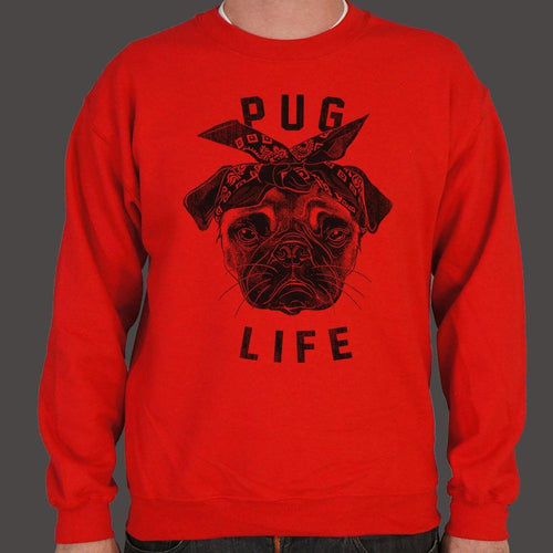 Pug Life Dog Sweater (Mens)-Sweatshirt-Bella's PetStor