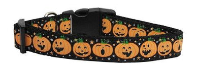 Pumpkins Nylon Cat Collar-Dog Collars-Bella's PetStor