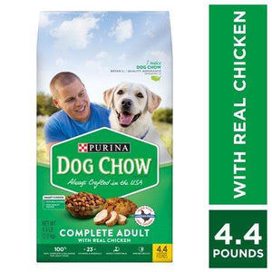 Purina Dog Chow, Dry Dog Food, Complete Adult With Real Chicken-Dog Food-Bella's PetStor