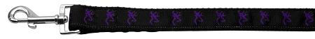 Purple Deer Nylon Dog Leash Inch Wide Long-Dog Collars-Bella's PetStor
