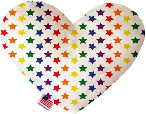 Rainbow Stars Inch Heart Dog Toy-More-Bella's PetStor