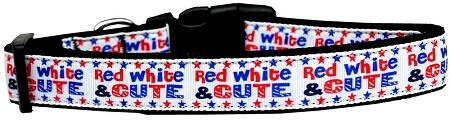 Red, White, And Cute! Nylon Dog-DOGS-Bella's PetStor
