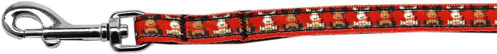 Reindeer Nylon Ribbon Pet Leash Inch Wide Lsh-Dog Collars-Bella's PetStor