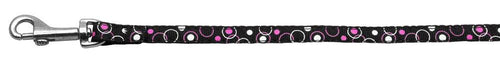 Retro Nylon Ribbon Collar Black 3/8 Wide Lsh-Dog Collars-Bella's PetStor