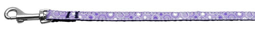 Retro Nylon Ribbon Collar Lavender 3/8 Wide Lsh-Dog Collars-Bella's PetStor