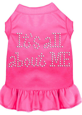 Rhinestone All About Me Dress-Dog Clothing-Bella's PetStor