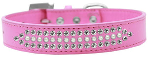 Ritz Pearl And Clear Crystal Dog Collar Size-General-Bella's PetStor