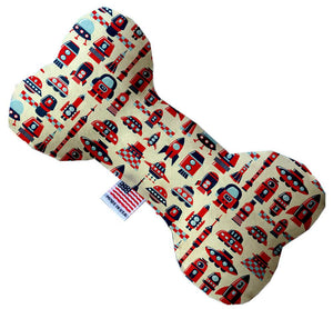Rocket Man Inch Canvas Bone Dog Toy-Made in the USA-Bella's PetStor