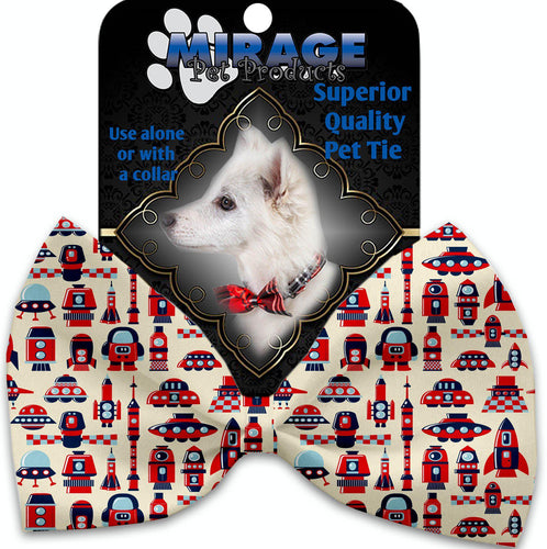Rocket Man Pet Bow Tie Collar Accessory With Velcro-Bow Ties-Bella's PetStor