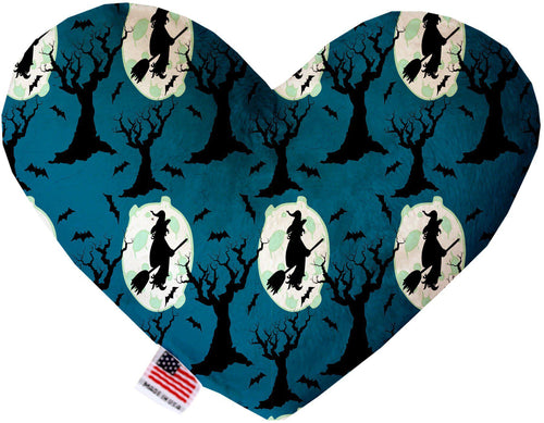 Salem Witches Inch Canvas Heart Dog Toy-Made in the USA-Bella's PetStor
