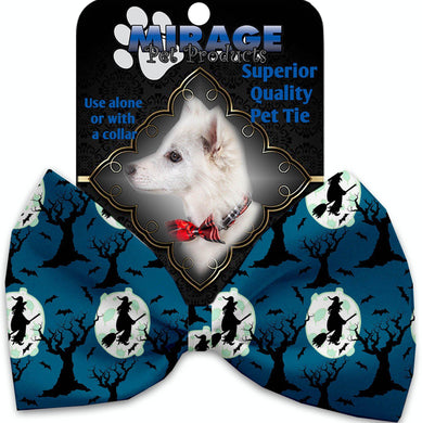 Salem Witches Pet Bow Tie Collar Accessory With Velcro-Holidays-Bella's PetStor