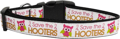 Save The Hooters Nylon Dog Collar-DOGS-Bella's PetStor