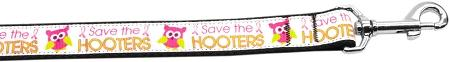 Save The Hooters Nylon Dog Leash Inch Wide Long-DOGS-Bella's PetStor