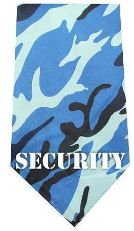 Security Screen Print Bandana-Dog Clothing-Bella's PetStor
