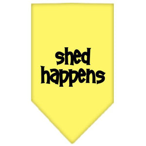Shed Happens Screen Print Bandana-Dog Clothing-Bella's PetStor