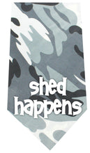 Load image into Gallery viewer, Shed Happens Screen Print Bandana-Dog Clothing-Bella's PetStor
