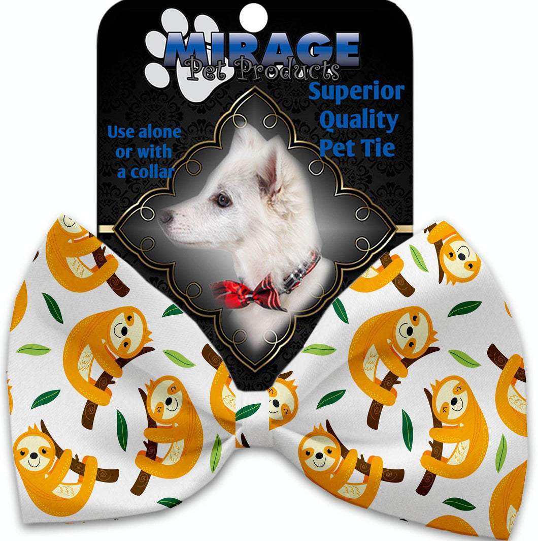 Sleepy Sloths Pet Bow Tie-Bow Ties-Bella's PetStor
