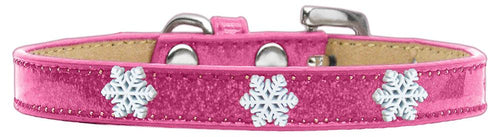 Snowflake Widget Dog Collar Ice Cream Size-Dog Collars-Bella's PetStor