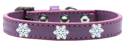 Snowflake Widget Dog Collar Size-Dog Collars-Bella's PetStor