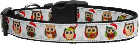 Snowy Owls Nylon Dog Collar-DOGS-Bella's PetStor