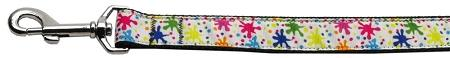 Splatter Paint Nylon Dog Leash Inch Wide Long-DOGS-Bella's PetStor