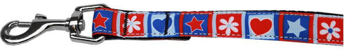 Stars And Hearts Nylon Pet Leash By-New!-Bella's PetStor