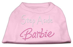 Step Aside Shirts Light Pink-Dog Clothing-Bella's PetStor