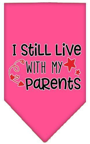 Still Live With My Parents Screen Print Pet Bandana-Dog Clothing-Bella's PetStor