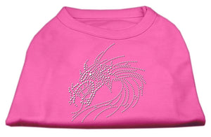 Studded Dragon Shirts Bright Pink-Dog Clothing-Bella's PetStor