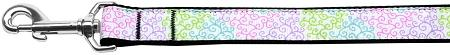 Summer Swirls Nylon Dog Leash Inch Wide Long-DOGS-Bella's PetStor