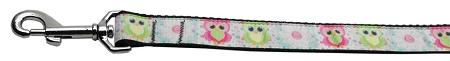 Sweet As Sugar Owls Nylon Ribbon Collars 1 Wide Leash-Dog Collars-Bella's PetStor