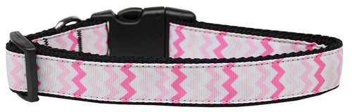 Sweet Chevrons Nylon Dog-DOGS-Bella's PetStor