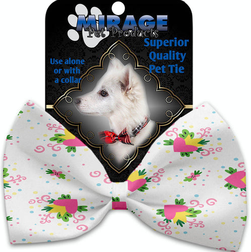 Sweet Love Pet Bow Tie Collar Accessory With Velcro-Valentines-Bella's PetStor
