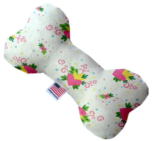 Sweet Love Stuffing Free Inch Bone Dog Toy-Valentines-Bella's PetStor