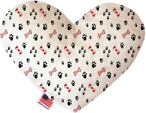 Sweet Paws Inch Canvas Heart Dog Toy-Made in the USA-Bella's PetStor