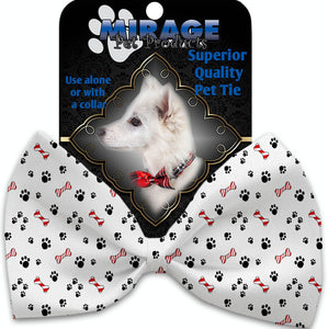 Sweet Paws Pet Bow Tie Collar Accessory With Velcro-Bow Ties-Bella's PetStor