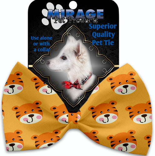 Tally The Tiger Pet Bow Tie Collar Accessory With Velcro-Bow Ties-Bella's PetStor